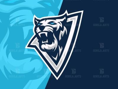 Tiger Esport Logo Gaming Team