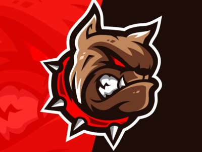 Bulldog Esports Logo Gaming Team