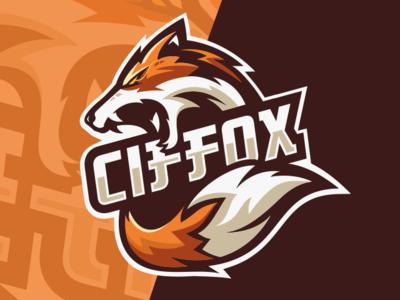 Fox Esports Logo Gaming Team