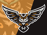 Owl Esport Logo Gaming Teams