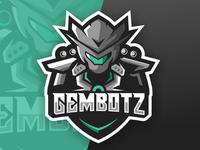 Robot Esports Logo Gaming Team