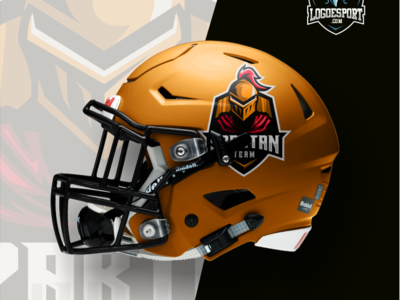 Spartan Sport Logo Gaming Team Helm