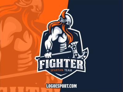 Spartan Esport Logo Gaming Teams