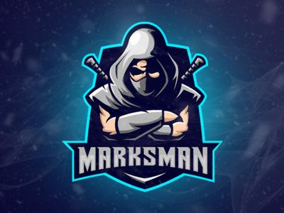 Esport Logo Marskman Archers Gaming Teams