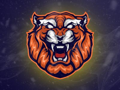 Tiger Gaming Team Logo Esport