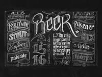 Beer Chalkboard