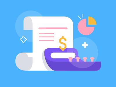 Budgeting Icon design illustration vector art vector illustration ui design icon design icon branding budgeting app budgeting financial literacy