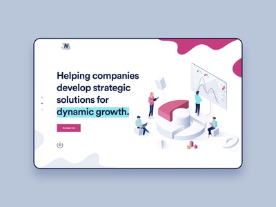 Digital Agency Header Design