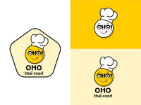 Oho Thai Food Logo best of dribbble clean  creative ui design typography logo graphic designer creativebanda identity design branding