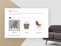 Simple Product Page Design