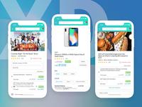 eCommerce App UI