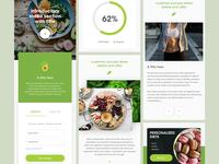Foody Science App/Web/Dashboard design (Continue)