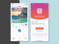 Regrammer app UI