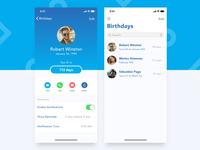 Birthday Reminder & Countdown App