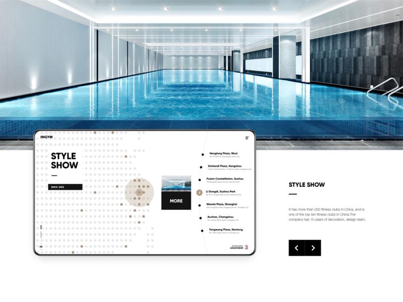 INGYM GROUP ux webdesign