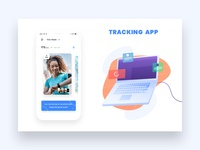 Tracking App UI