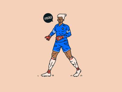 Goalkeeper goalkeeper sports character design soccer football procreate illustration