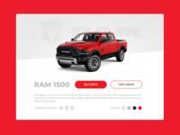 Ram truck Card