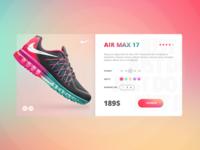 Nike Air Max Card