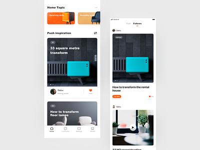 Social App ui emoji app ui design