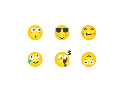 emoji emoji branding icon illustration design