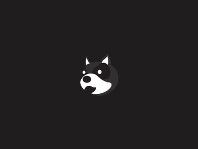 cruel dog logo branding icon illustration design