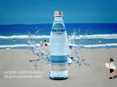 Branding illustration & concept beach summer concept illustration brand packaging