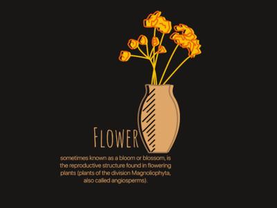 Flower painting flower illustration brand packaging