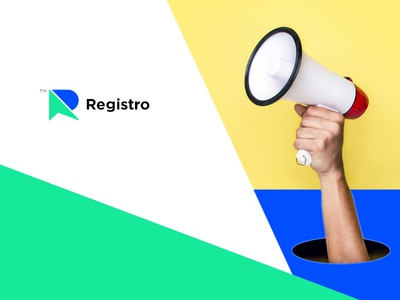 Registro design logo branding identity logo design