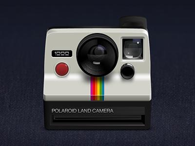 Polaroid Land Camera 1000 polaroid camera jeans lens red green blue orange yellow