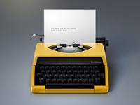 Little Typewriter Icon