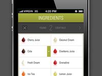 Cocktail App UI