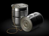 Tin Can Telephone Icon