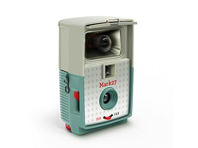 Retro Camera Icon icon retro camera glass plastics toy