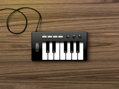 Little Piano piano music keys wood