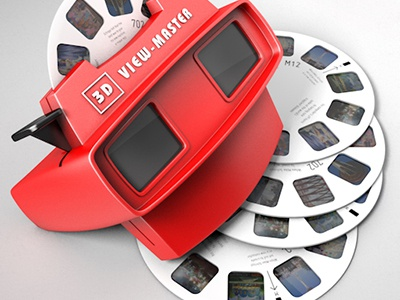 View Master Icon icon desktop osx view master retro