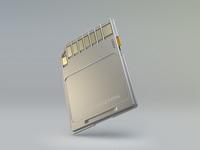 SD-Card Icon sd sd-card icon 3d