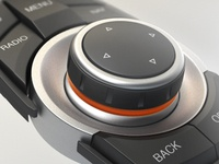 BMW iDrive Controller Close-Up bmw rendering idrive