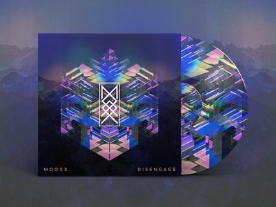 M O O X X 'Disengage' EP Art abstract branding cover art art direction art music logo illustration design