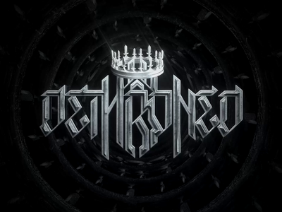 Dethroned - Logo Animation animation lettering octane render typography logo animation octane cinema 4d cinema4d 3d render logo art direction design branding