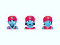 Vector Emoji: Genie vector emoji messaging message app emotion genie app application app design emoji emoji set illustration color ui icon set icons8 graphic design design icons icon vector