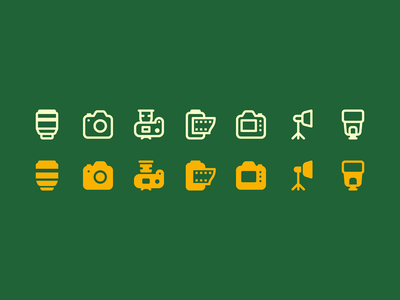 Fluent System icons: Camera and Camera Accessories photo and video video lens camera app camera glyphs outline icon set ui icons8 graphic design icons icon digital art design vector