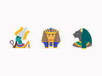 Color icons: Egypt