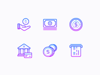 Nolan icons: Finance And E-commerce