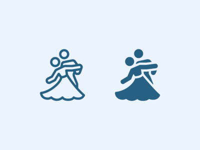 iOS Icons: Ballroom Dancing