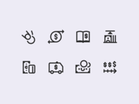 Windows 10 Icons: Finance