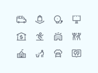 Simple Small icons: City