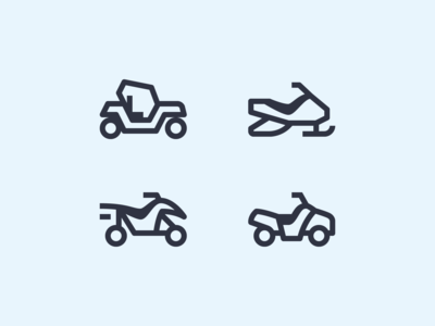 Simple Small icons: All-Terrain Vehicles