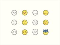 Hand Drawn icons: Emoji