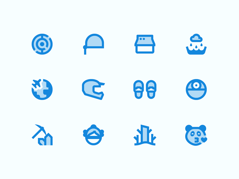 Material Two Tone icons ux store online store labyrinth rain helmet panda materialdesign material two tone two-tone outline ui icons8 graphic design design digital art vector icons icon